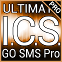 Orange ICS GO SMS Pro Theme logo