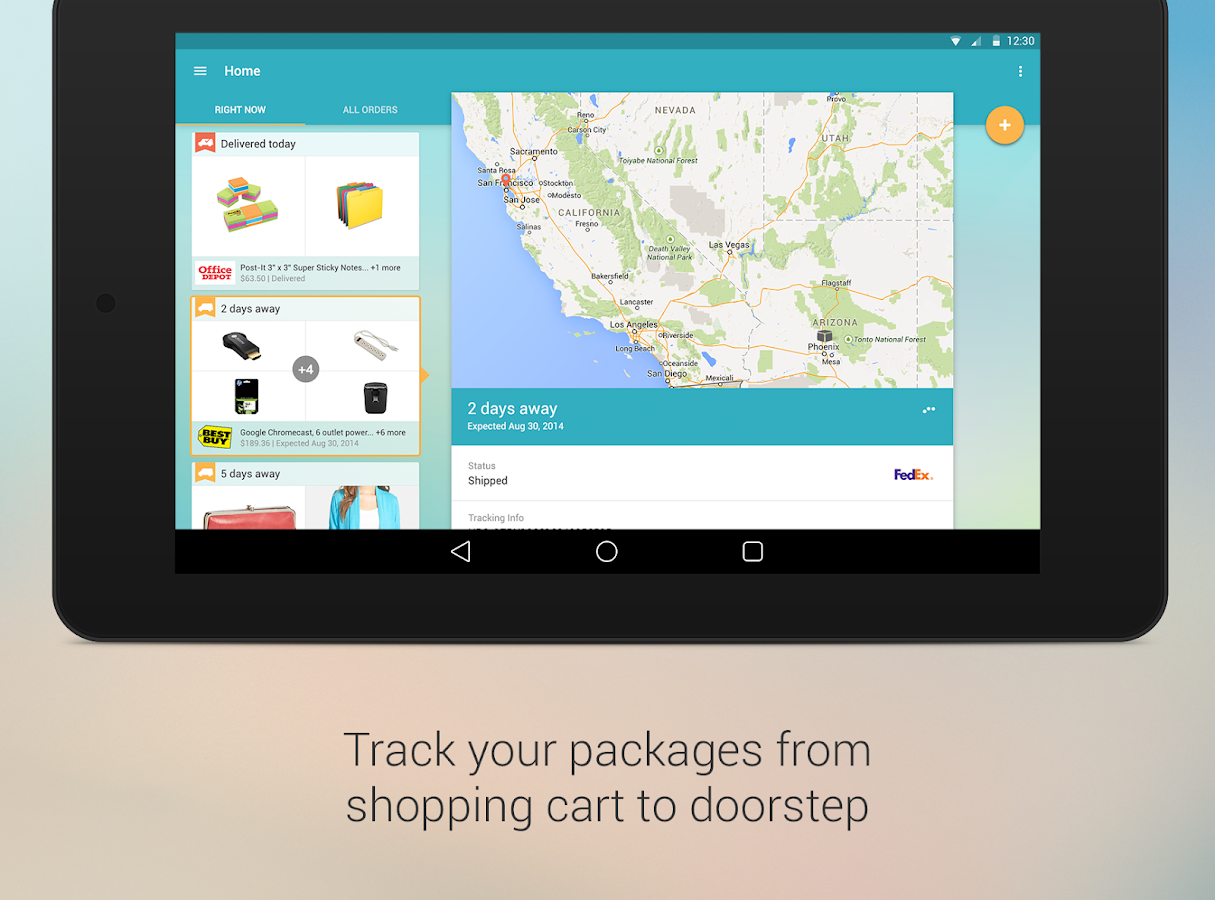Slice: Package Tracker - screenshot