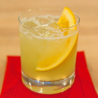Summer Sherry Cocktail.