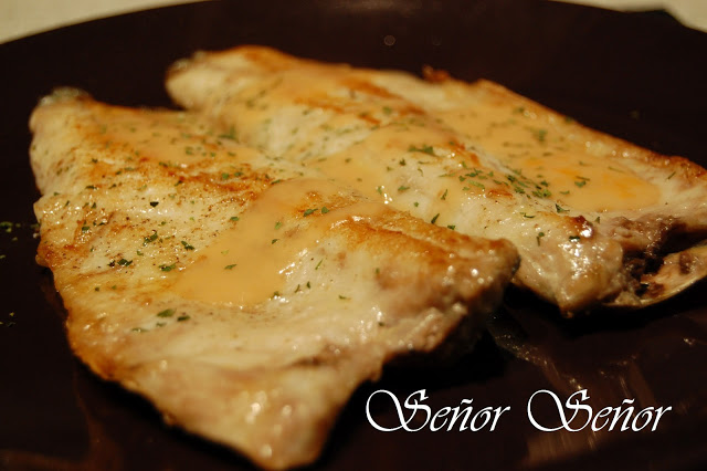 Sea Bass in Shrimp Sauce