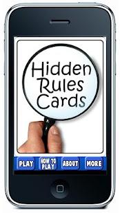 Hidden Rules- screenshot thumbnail