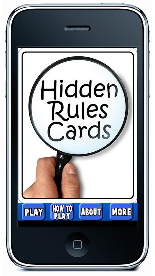 Hidden Rules- screenshot