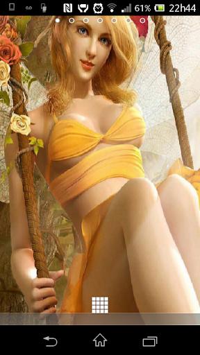 Autumn Fairy Angel 3D LWP