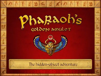Pharaoh's Golden Amulet