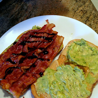 Avocado, Bacon and Balsamic Sandwich