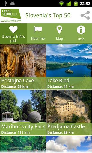 Slovenia's Top 50