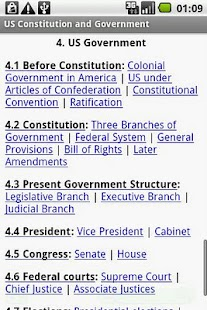 US Constitution and Government- screenshot thumbnail