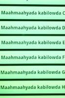 Screenshot of Maahmaahyo (Somali proverbs)