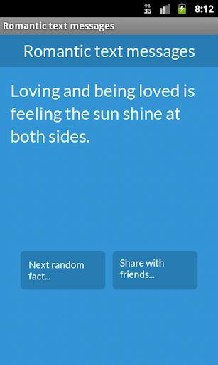 Romantic text messages