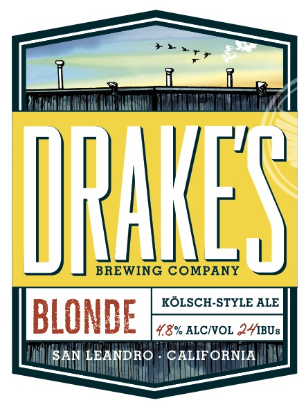 Logo of Drake's Blonde Ale