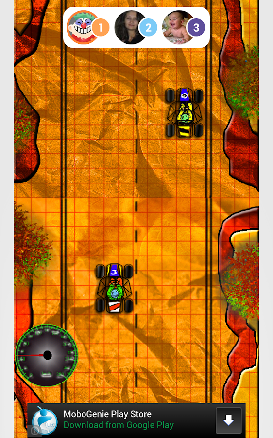Doodle Buggy Blitz Multiplayer - screenshot