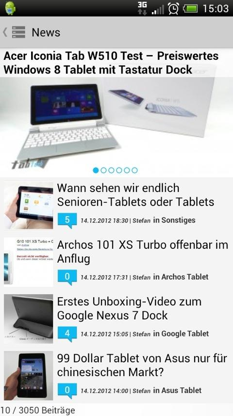 tabtech.de (Spenden) - screenshot