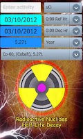 Screenshot of Isotopes Decay Calculator
