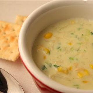 Crabmeat and Corn Soup.