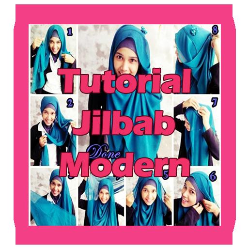 Tutorial Jilbab Modern LOGO-APP點子