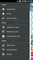 Screenshot of ASUS WebStorage