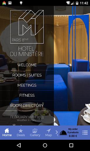 Ministère Hôtel