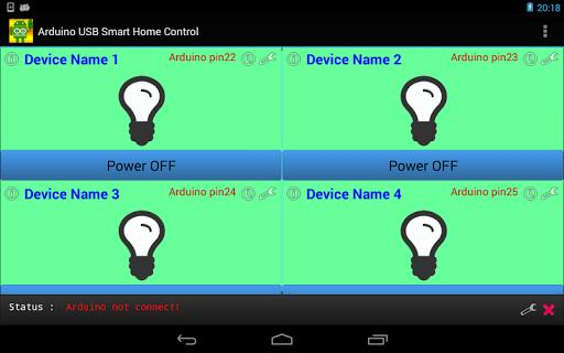 Arduino USB Smart home Control|玩生產應用App免費|玩APPs