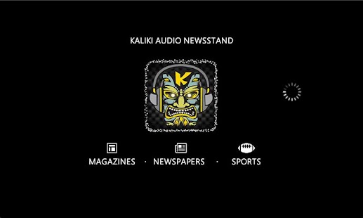 Kaliki Audio Newsstand- screenshot thumbnail