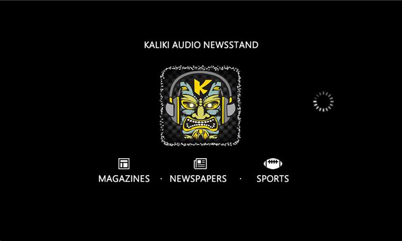 Kaliki Audio Newsstand - screenshot