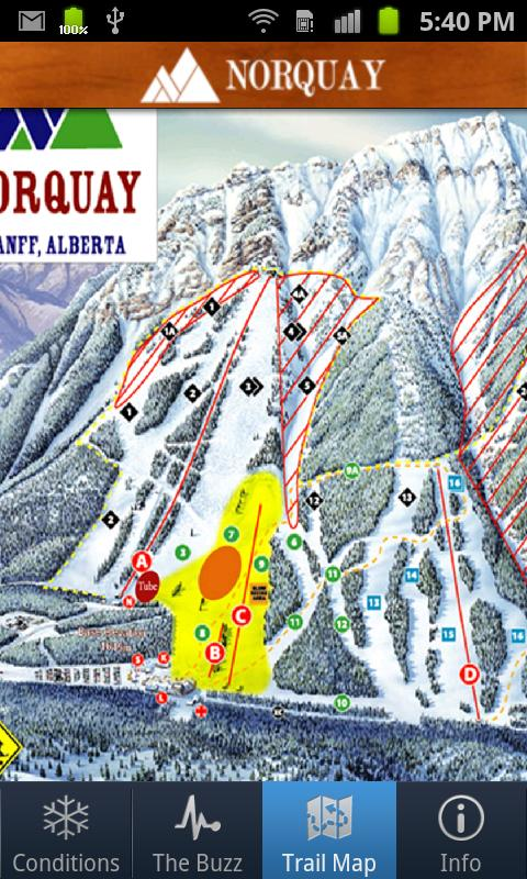 Norquay Ski Resort - screenshot