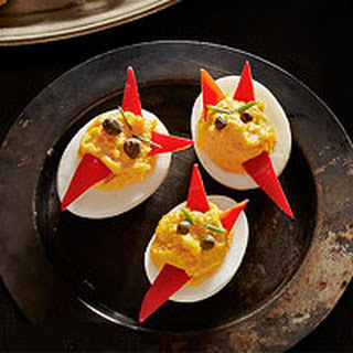Doubly Deviled Eggs.