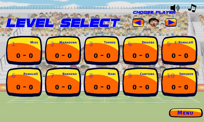 Head Soccer Championship - screenshot