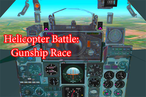 Helicopter Battle:Gunship Race