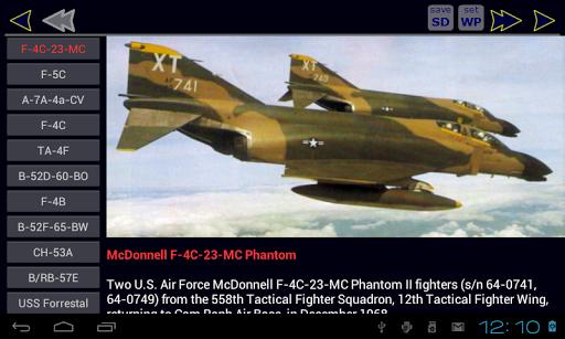 Vietnam War Aircraft