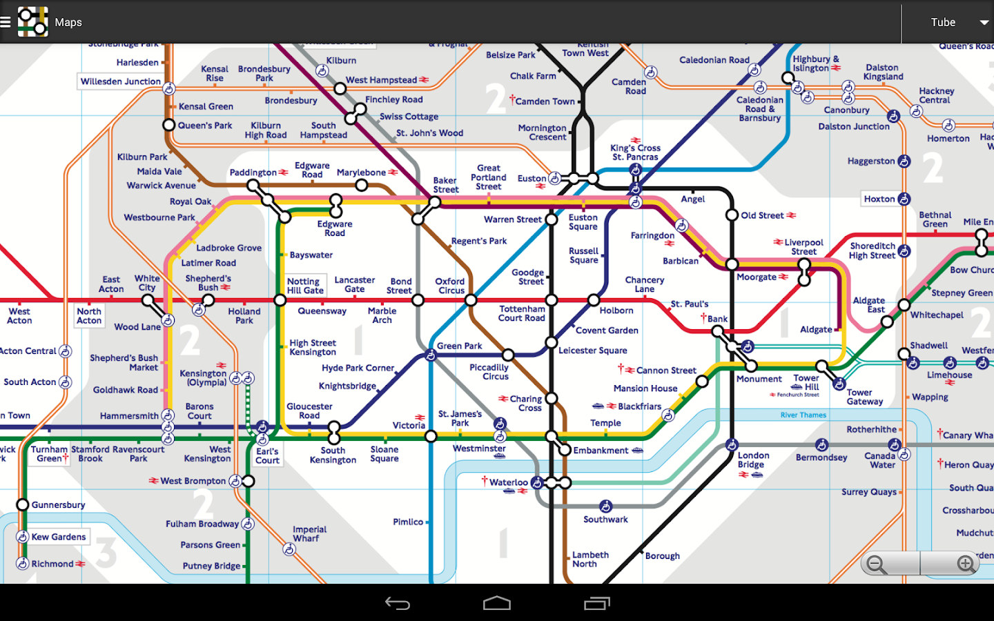 London Tube Master - screenshot