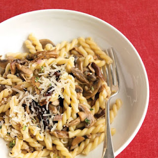 Pasta with Mixed Mushrooms and Thyme.
