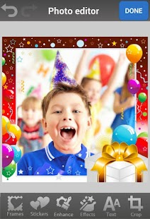 Birthday Photo Frames & Cards - screenshot thumbnail