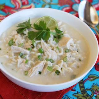 Easy Thai Coconut Soup.