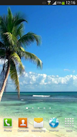 Screenshot of Beach Live Wallpaper HD