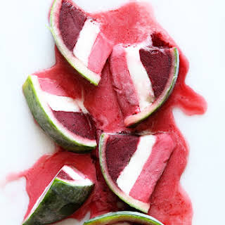 Sorbet Watermelon Wedges.