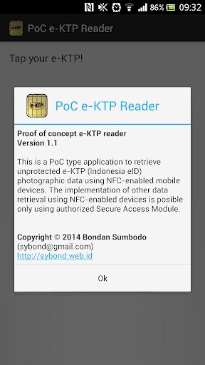 PoC e-KTP Reader free