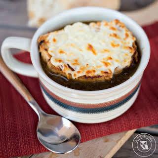 Crock Pot French Onion Soup.