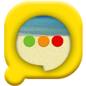 Easy SMS Beach theme icon