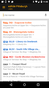 ezRide Pittsburgh Mass Transit - screenshot thumbnail
