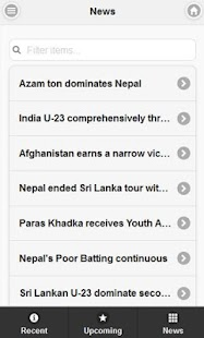NepalCricket Mobile - screenshot thumbnail