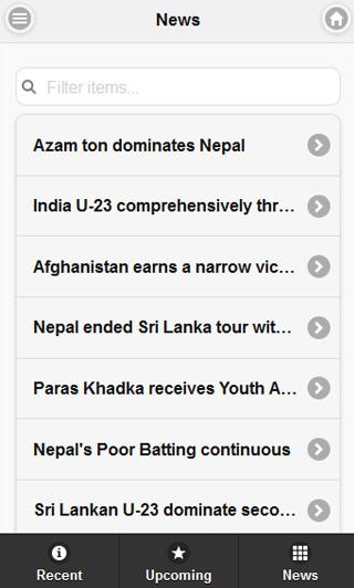 Nepal Cricket - screenshot