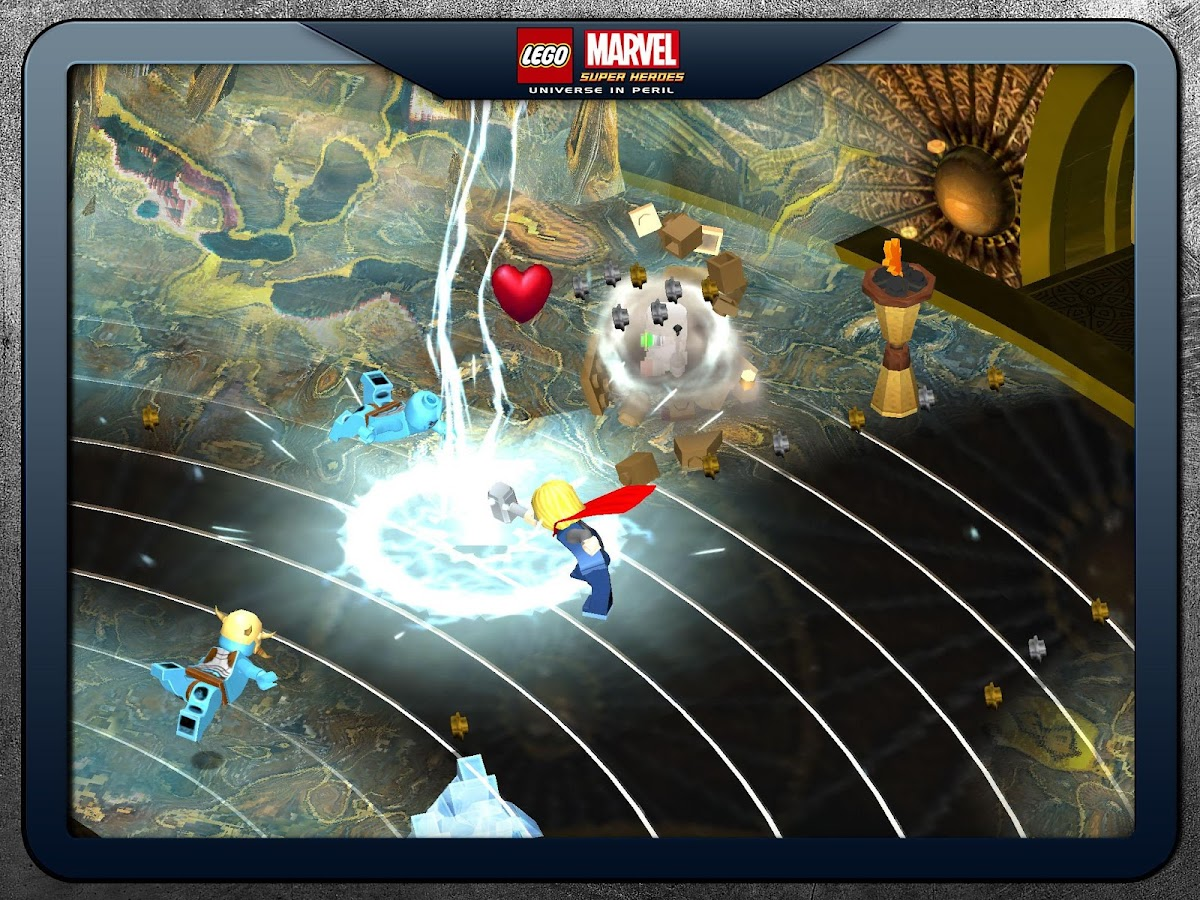 LEGO ® Marvel Super Heroes– captură de ecran