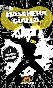 Maschera Gialla 01 - Phone - screenshot thumbnail