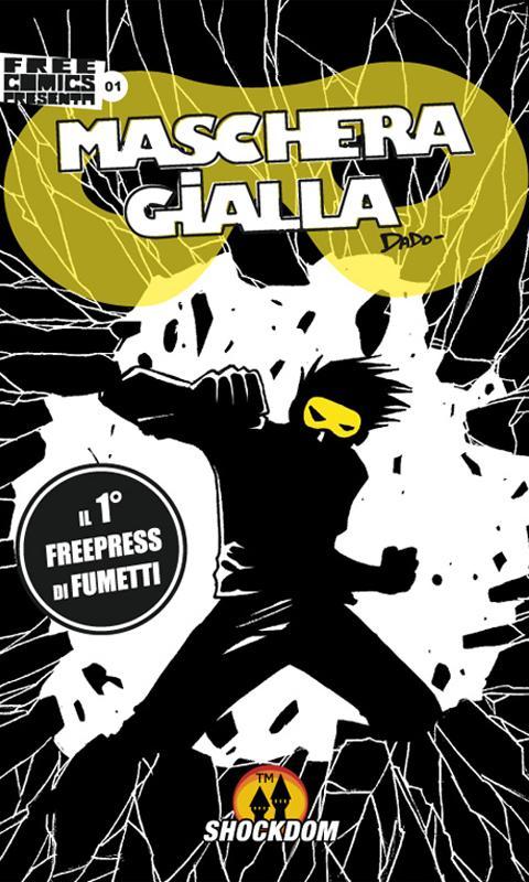 Maschera Gialla 01 - Phone - screenshot
