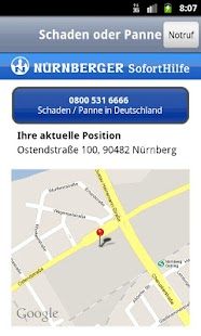 NÜRNBERGER SofortHilfe- screenshot thumbnail