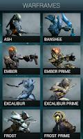 Screenshot of Warframe Nexus