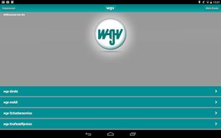 Screenshot of wgv