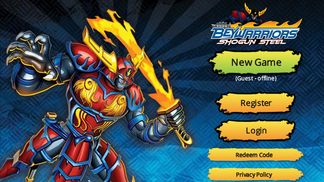 Beyblade BeyWarriors- screenshot