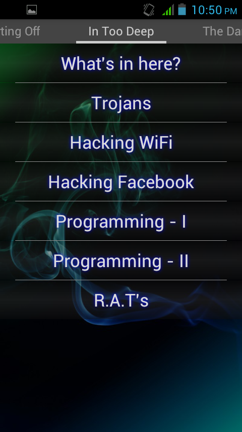 Hacking Tutorials Hack WiFi FB - screenshot