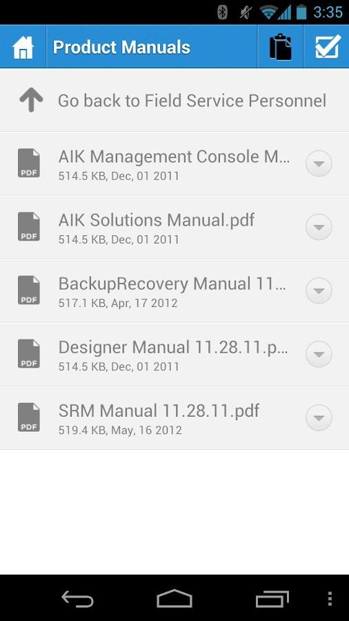 Access - screenshot